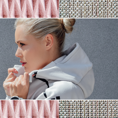 Adidas by Stella McCartney creates 100% recyclable hoodie.