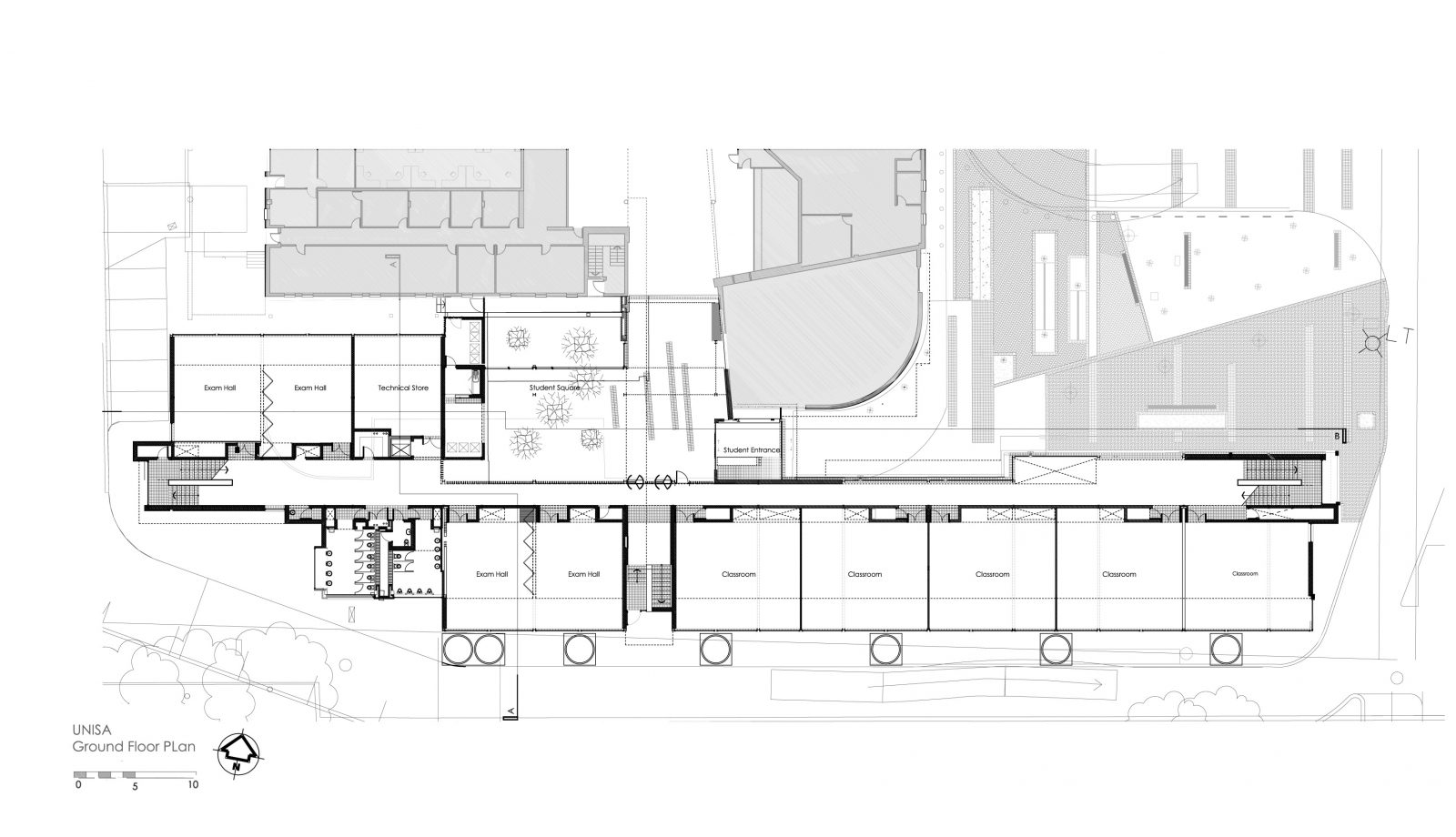Unisa_Ground Floor Plan